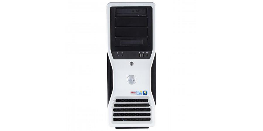 DELL PRECISION WORKSTATION T7500 2X HEXACORE INTEL XEON 2666 12x 3060 NVIDIA QUADRO K620 (2GB) 49152 (ECC DDR3) 256GB SSD + 2TB HDD DVDRW WIN 7/10 PRO TOWER
