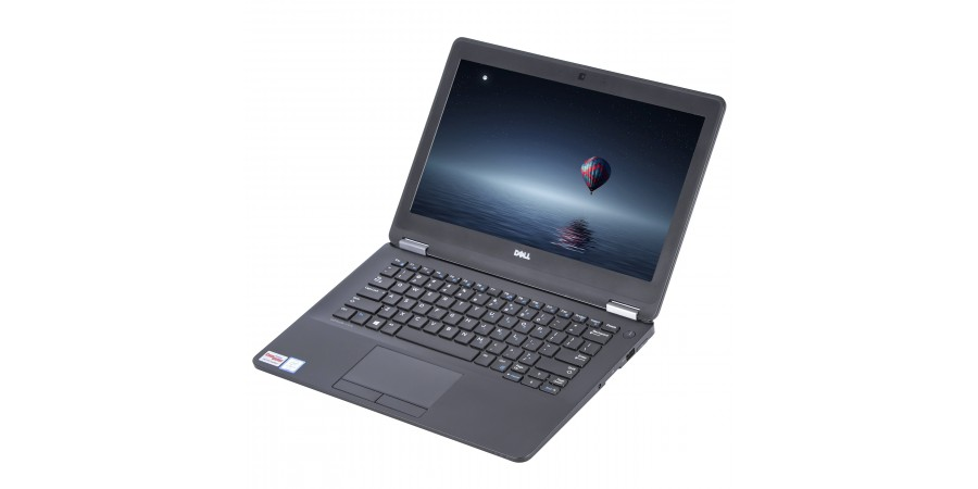 DELL LATITUDE E7270 CORE i7 2600 4x 3400 12,5 LED (1920x1080) 8192 256GB SSD WIN 8/10 PRO LAN SD HDMI DP WIFI BT KAM
