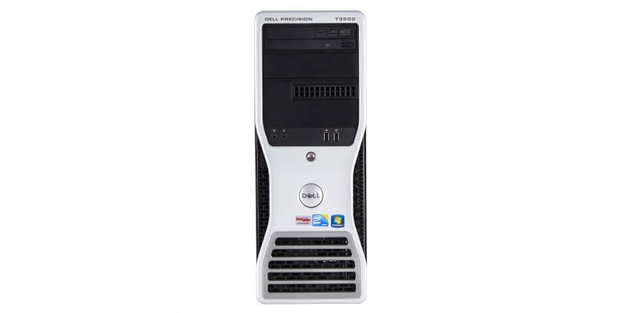 DELL PRECISION T3500 QUADCORE INTEL XEON 3200 8x 3460 nVidia QUADRO XF1800(768MB) 12288 (ECC DDR3) 1TB (SATA) DVD WIN 7 PRO TOWER