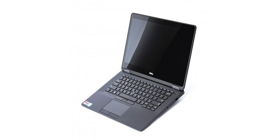 DELL LATITUDE E7470 CORE i5 2400 4x 3000 14 LED (2560x1440) TOUCH CARBON BAT BRAK 8192 256GB SSD WIN 8/10 PRO MOD LAN SD HDMI DP WIFI BT KAM