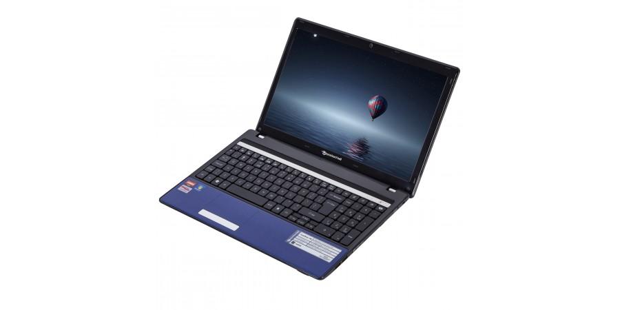 LAPTOP PACKARD BELL EASYNOTE TM80 AMD ATHLON II P340 2200 15,6 (1366x768) 4096 180GB SSD DVDRW WIN 7/10 HOME WIFI KAM