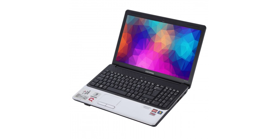 LAPTOP COMPAQ PRESARIO CQ61 AMD ATHLON II M300 2000 15,6 (1366x768) 4096 160GB DVDRW WIN 7/10 HOME WIFI KAM