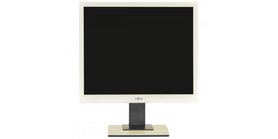 FUJITSU B19-5 19 (1280x1024) M1/O2 WHITE(POŻÓŁKŁE) VGA DVI-D LCD PIVOT