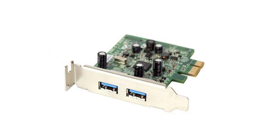DELL KARTA ROZSZERZEŃ FWGJ8 2xUSB3.0 PCI LOW PROFILE