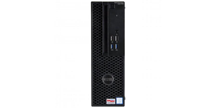 DELL Precision T3420 XEON QUAD E3-1245 V5 3500 8x 3900 16384 (DDR4) 512GB SSD NOWY WIN 7/10 PRO SFF