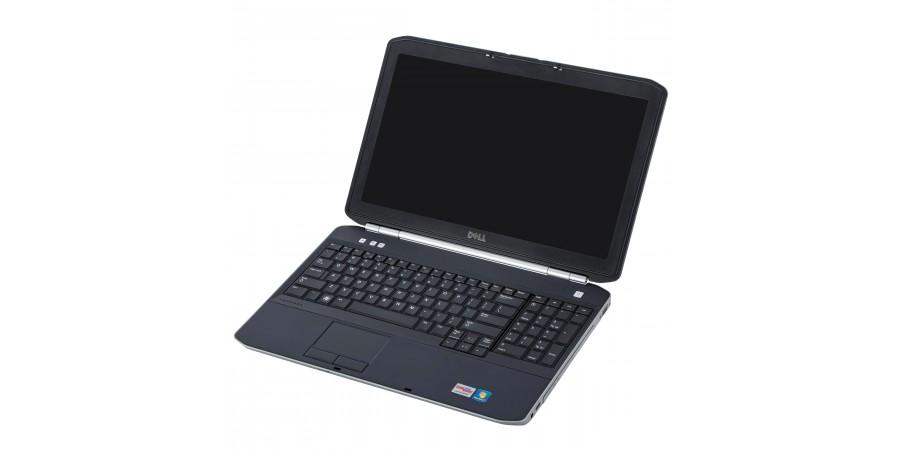 DELL LATITUDE E5520 CORE i5 2300 4x 2900 15,6 LED (1366x768) BAT BRAK 8192 128GB SSD DVDRW WIN 7/10 PRO MOD LAN SD FW HDMI WIFI