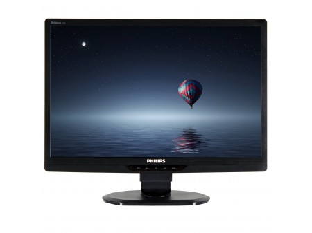 PHILIPS BRILLIANCE 220S 22 (1680x1050) M1/O1 BLACK VGA  DVI-D LCD