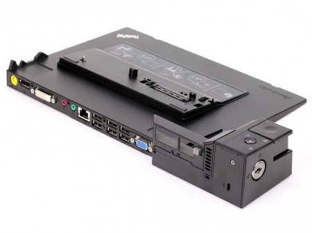 IBM LENOVO DOCK 4337 6xUSB2.0 LAN VGA DVI DP AUDIO KEY