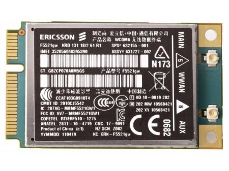 HP HS2340 WWAN ERICSSON F5521gw miniPCI-E 3G/HSPA GPS