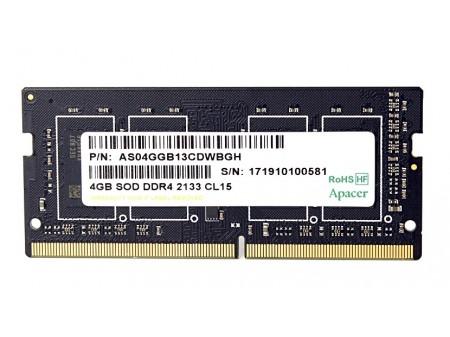 Apacer Pamięć DDR4 4GB 2133MHz CL15 SODIMM 1.2V