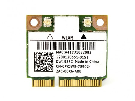 DELL 1535C WIFI BT ARS263 PKJW8 half-miniPCI-E 802.11a/b/g/n BT
