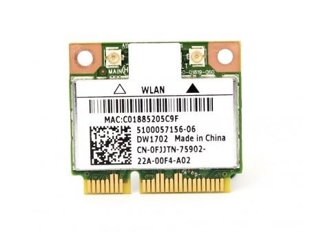 DELL 1702 WIFI BT AR5B195 FJJTN MX44D half-miniPCI-E 802.11b/g/n BT