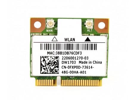DELL 1703 WIFI BT AR5B225 FXP0D half-miniPCI-E 802.11b/g/n BT 4.0