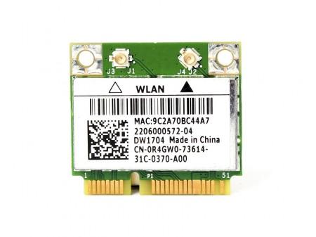 DELL 1704 WIFI BT BCM943142HM R4GW0 half-miniPCI-E 802.11b/g/n BT 4.0