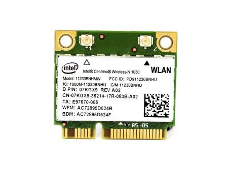 DELL WIFI BT INTEL 11230BN_HMW 7KGX9 half-miniPCI-E 802.11b/g/n BT