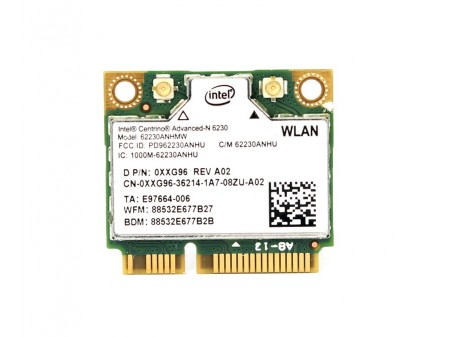 DELL WIFI BT INTEL 62230AN_HMW XXG96 half-miniPCI-E 802.11a/b/g/n BT