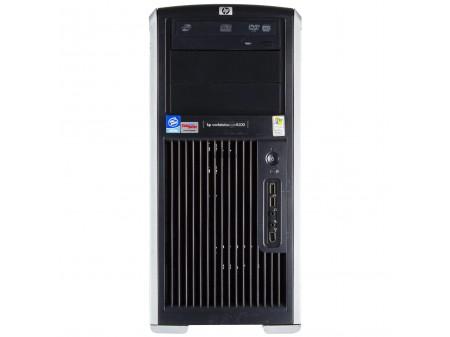 HP WORKSTATION XW8200 2x INTEL XEON 3600 nVidia Quadro FX 540  (128MB) 8192 (DDR2) 250GB (SATA) DVDRW WIN 7 PRO TOWER