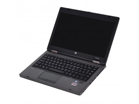HP ProBook 6465b AMD A4 2100 2x 2500 14 LED (1366x768) KLASA II BAT DO REG 4096 320GB DVDRW WIN 7 PRO LAN COM SD FW DP WIFI